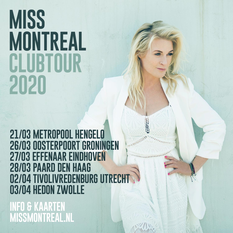Nederlandstalige Single En Clubtour Voor Miss Montreal Agents After All